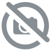 Lot de 16 crochets plastique GRIS